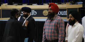 KULDIP SINGH GETS PINNED BY THE BOC