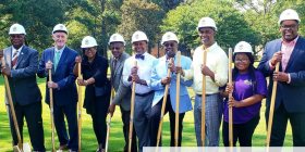RAINBOW DR PARK GROUNDBREAKING