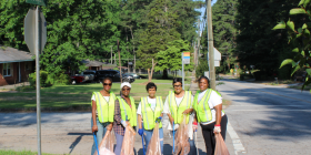 GREEN FORREST CIVIC ASSOC. CLEANUP